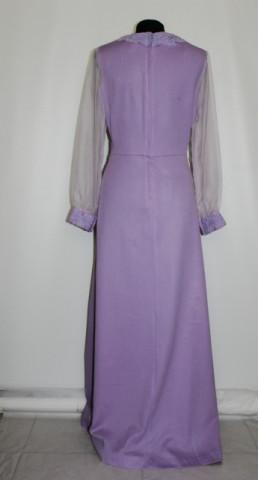 Rochie de seara vintage lila anii '60