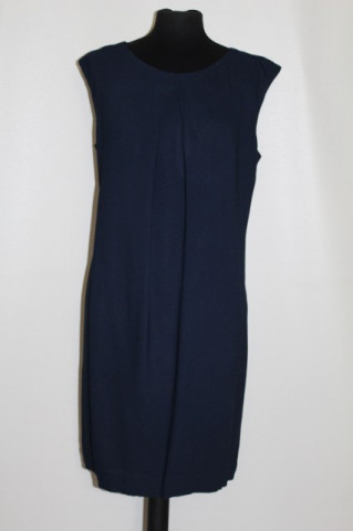 Rochie din crepe bleumarin repro anii '60
