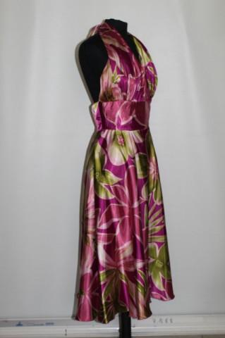Rochie print floral urias repro anii '50