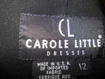 """Rochie retro micro mini """"Carole Little"""" anii '90"""