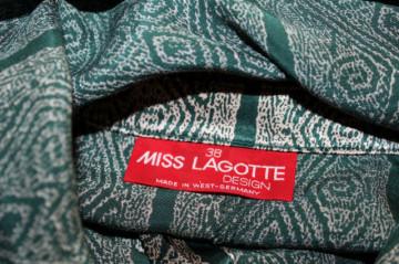 """Rochie retro """"Miss Lagotte"""" anii '80"""
