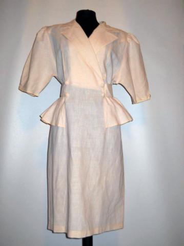 Rochie retro roz deschis anii '80