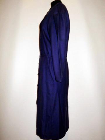 Rochie retro violet inchis anii '80