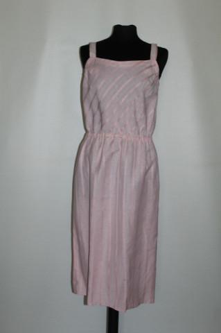 Rochie roz dungi ton pe ton anii '50