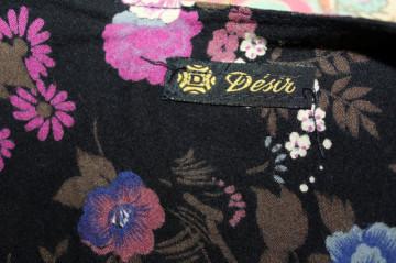Rochie vintage flori de camp anii '70