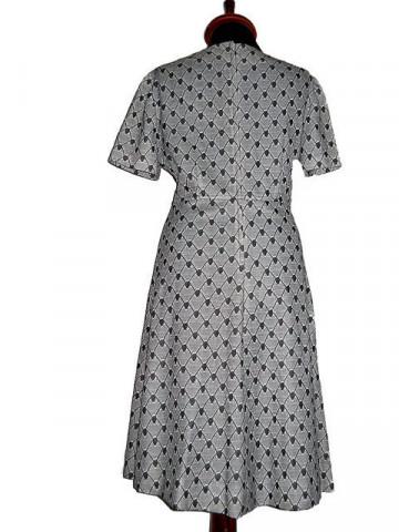 Rochie vintage print fagure anii '60