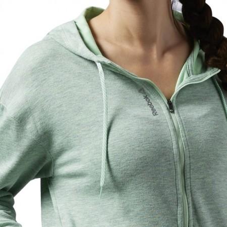 Hanorac Reebok Workout Ready Full Zip pentru femei