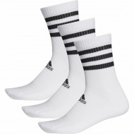 Set 3 perechi sosete Adidas 3-Stripes Cushioned Crew