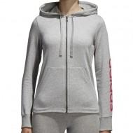Hanorac Adidas Essentials Linear Full Zip pentru femei