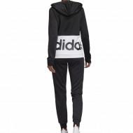 Trening Adidas Linear Hoodie French Terry pentru femei
