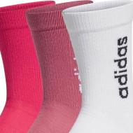 Set 3 perechi sosete Adidas Half-Cushioned Vertical Crew