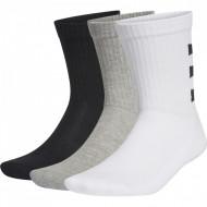 Set 3 perechi sosete Adidas 3-Stripes Half Cushioned Crew