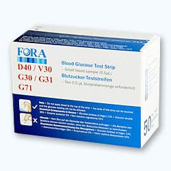 Teste glicemie Fora