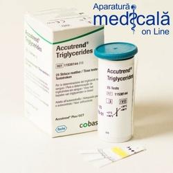 Teste Accutrend Triglycerides