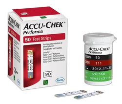 Teste glicemie Accu Chek Performa