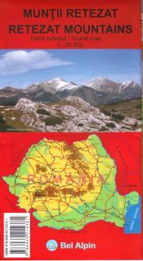 Harta turistica MUNTII RETEZAT images