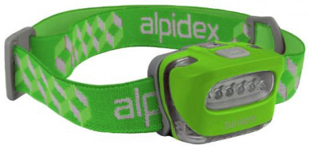Lanterna frontala ALPIDEX Sunlight -apple green