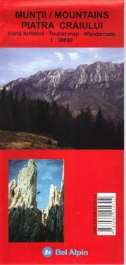 Poze Harta turistica MUNTII PIATRA CRAIULUI