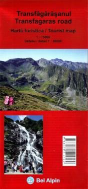 Poze Harta turistica - TRANSFAGARASANUL