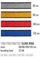 Lonja LACD SLING RING 80cm/16mm
