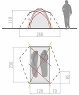 Cort VAUDE INVENIO Ultralight 2P