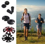 Set bete ALPIDEX Carbon Skitouring-Trek 62-135cm