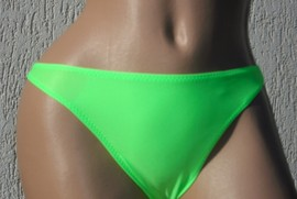 slip brazilian BRAZIL-verde neon