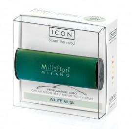 ODORIZANT AUTO Millefiori Milano - White Musk (mosc alb)