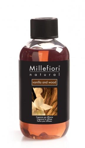 Rezerva parfum Millefiori Milano aroma Vanilla and wood