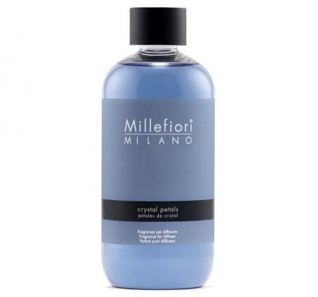 Rezerva de parfum pentru odorizant de camera cu betisoare Millefiori Milano aroma Crystal Petals