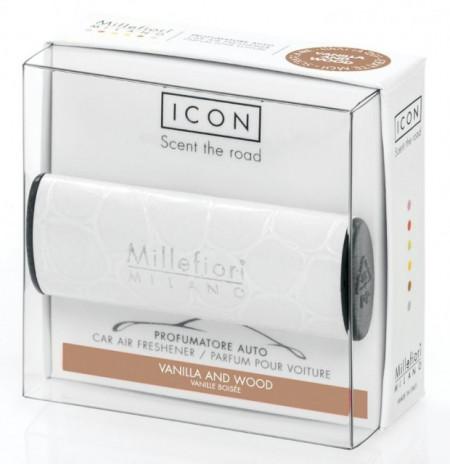 ODORIZANT AUTO Millefiori Milano- Vanilla and wood (aroma dulce)-colectia URBAN