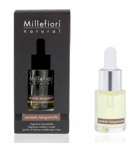 Sandalo Bergamotto Rezerva parfum Hidrosolubil pentru difuzor aromaterapie cu ultrasunete