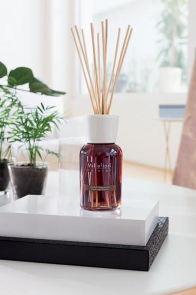 Odorizant de camera cu betisoare din bambus - 500ml Vanilla & wood