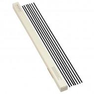 Set 7 betisoare din bambus negre 45cm pt Odorizant camera