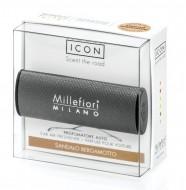ODORIZANT AUTO Millefiori Milano- Sandalo Bergamotto (aroma de santal)- colectia URBAN