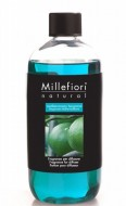 Rezerva de parfum pentru odorizant de camera cu betisoare MILLEFIORI MILANO aroma Mediterranean Bergamot - 250 ml