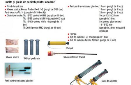 Dibluri perforate pentru ancorare 20/85