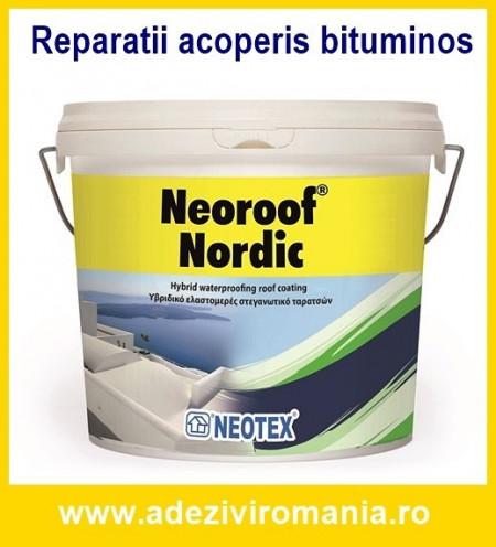 Sistem 1 - Hidroizolatie peste membrana bituminoasa Neoroof Nordic