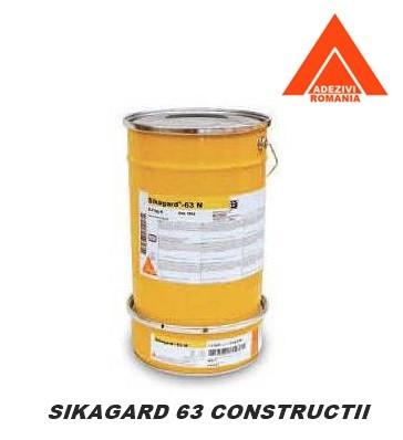Vopsea de protectie anticoroziva hidroizolatoare Sikagard 63 N - 10kg (a+b)