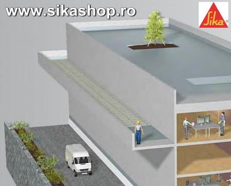 SILALASTIC 601 BC Hidroizolatie acoperis, terasa ambalaj 20.4 kg - RAL3011