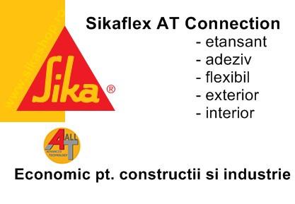 Etansant fatade acoperisuri Sikaflex AT Connection ambalaj 600 ml