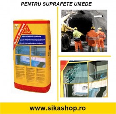 Sika MonoTop 160 Migrating hidroizolatie beton cu umiditate