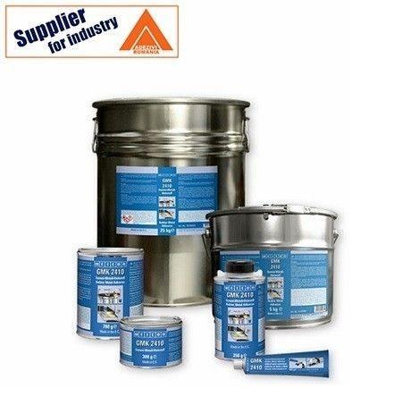 Adeziv de contact cauciuc-metal, puternic Weicon GMK 2410 rezistent la umiditate 5kg