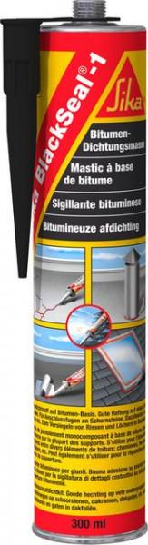 Silicon mastic bituminos pentru acoperis Sika BlackSeal 300ml