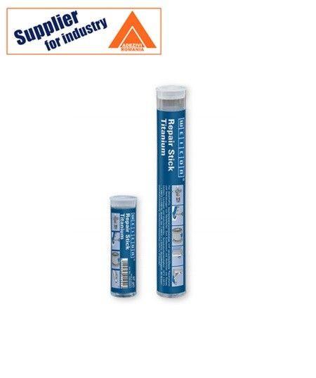 Adeziv epoxidic pastos Repair Stick Titan 57g rezistent la abraziune și la temperaturi înalte de până la +280°C