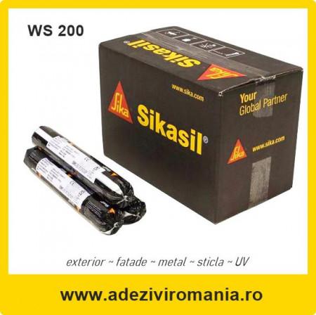 Sikasil Hyflex varianta WS 200 neutral transparent 600 ml