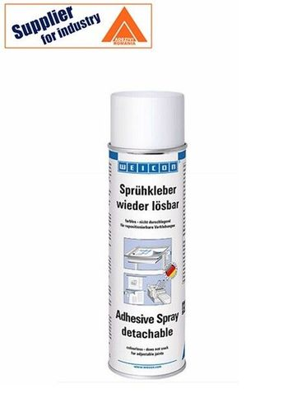 Spray adeziv Weicon transparent 500ml pentru lipiri detasabile
