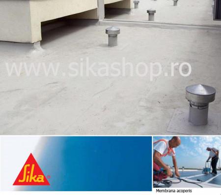 Hidroizolatii acoperis membrana PVC economica SikaPlan 12G hidroizolatii acoperis 2X20 m