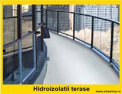 Hidroizolatii terase cu membrane lichide folosind Sistemul SikaLastic MTC