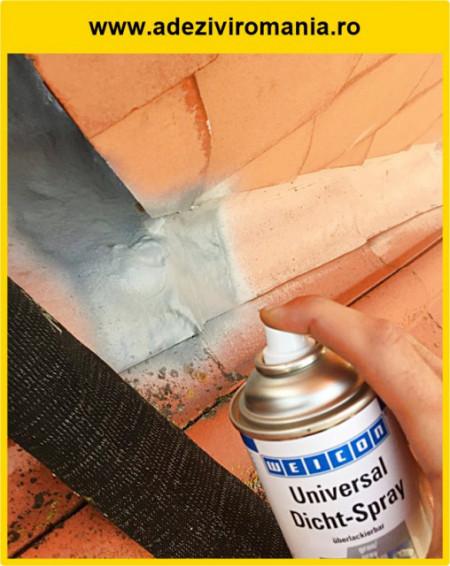 Membrana lichida spray pentru hidroizolatii reparatii infiltratii
